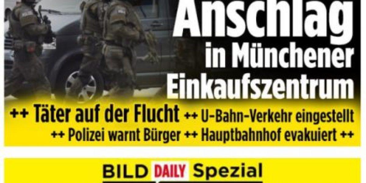 Tiroteo en Munich: el impacto en la prensa mundial
