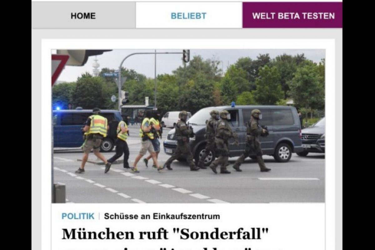 Foto:Die Welt (Alemania). Imagen Por: