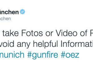 Foto:@PolizeiMuenchen. Imagen Por: