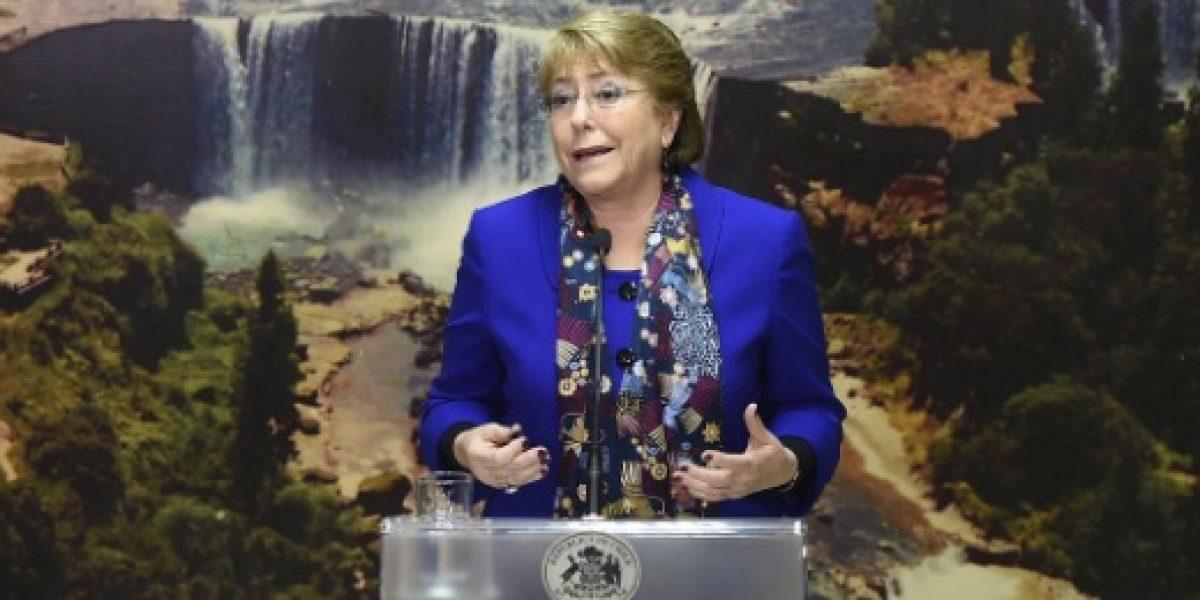 Presidenta Bachelet destaca que