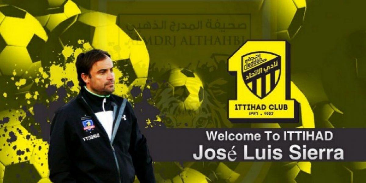 José Luis Sierra es presentado como el nuevo técnico del Al Ittihad de Arabia Saudita