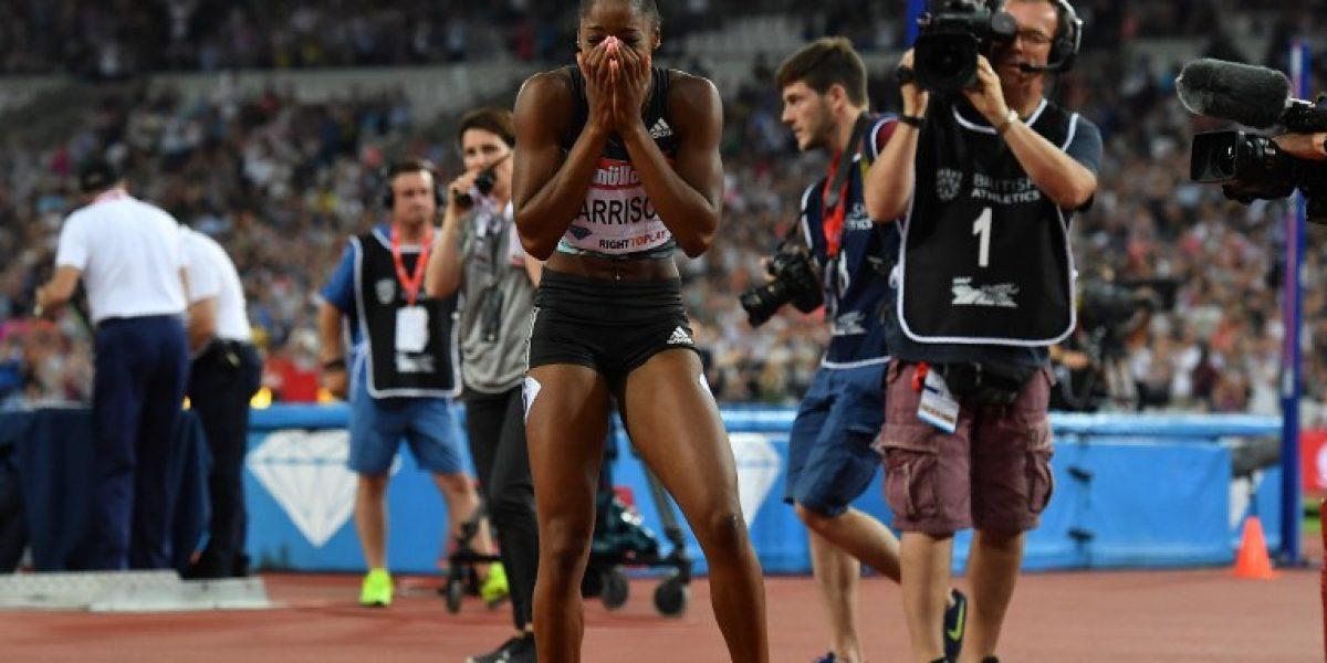 La estadounidense Kendra Harrison rompió el récord mundial de los 100 metros vallas