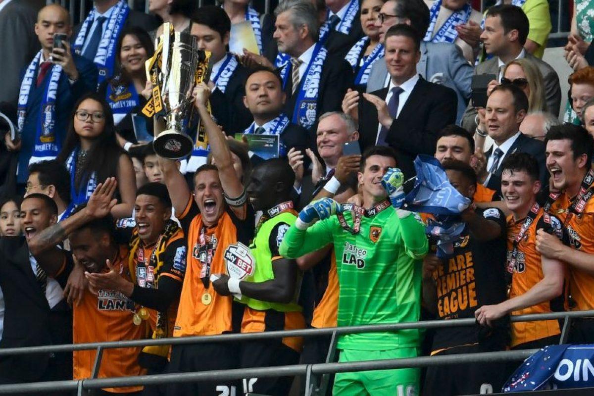 Luego de ganar la Championship League, Hull volvió a la categoría de honor Foto:Getty Images. Imagen Por: