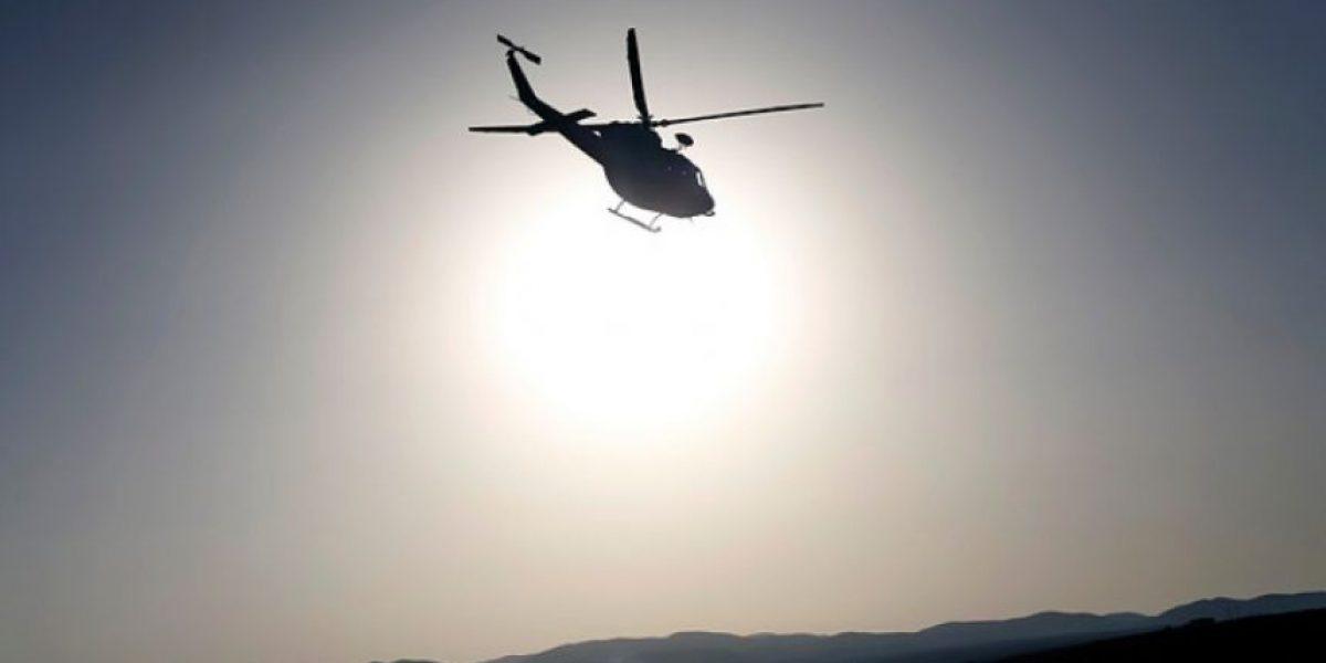 Encuentran helicóptero civil que había sido reportado como desaparecido en Zapallar