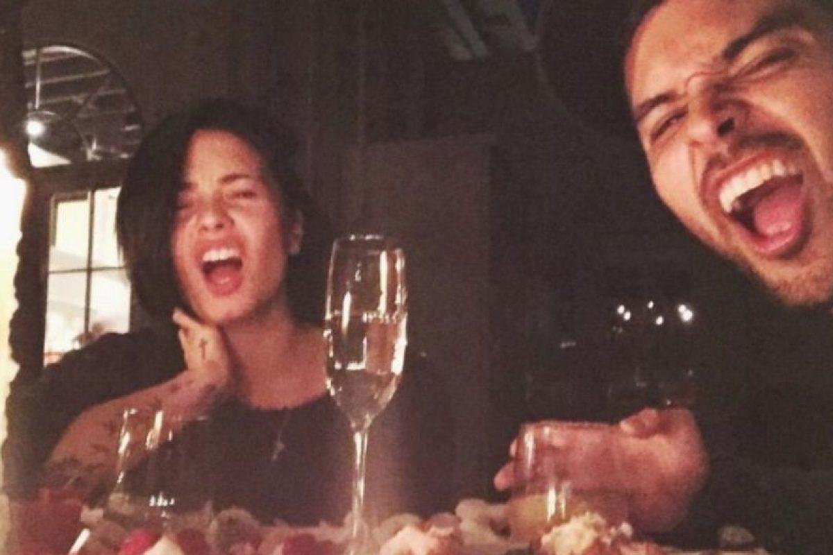 En él dio a conocer que había dado fin a su relación con el actor Foto:Vía Instagram/@ddlovato. Imagen Por: