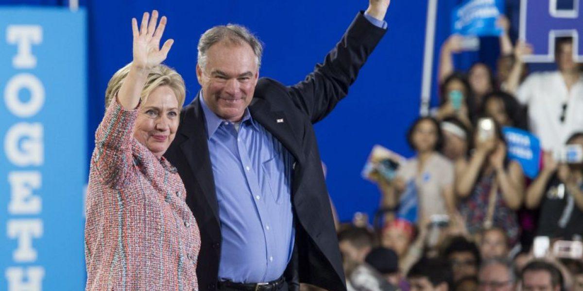 Hillary Clinton y Tim Kaine apuestan a su experiencia para vencer a Trump