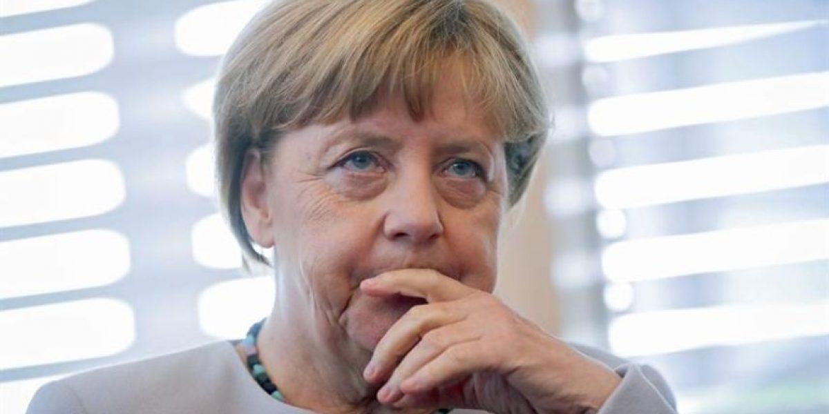 Canciller alemana encabezó reunión de seguridad tras