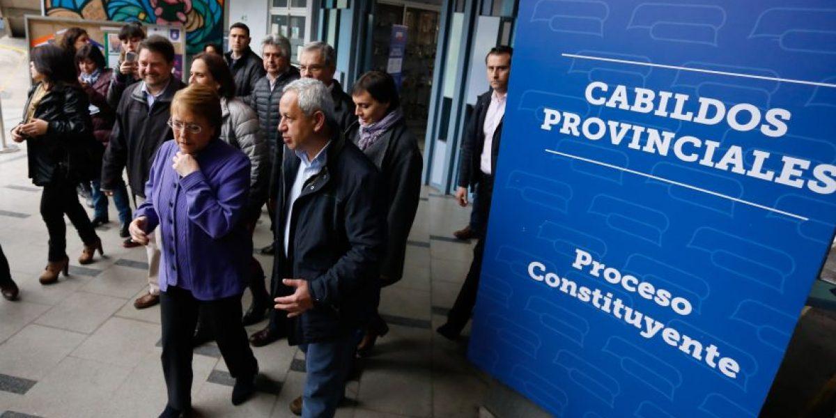 Presidenta Bachelet y ministros participan de cabildos provinciales  del Proceso Constituyente
