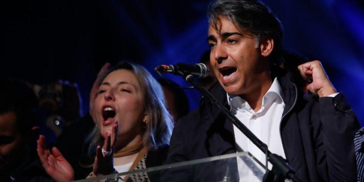 Marco Enríquez-Ominami reapareció: