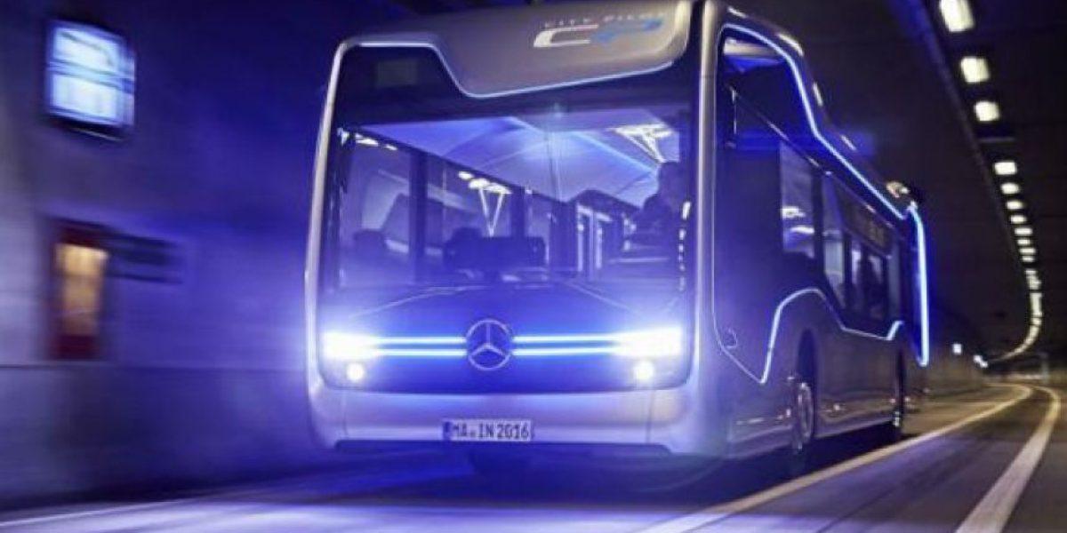 Prueban en Ámsterdam el primer bus urbano autónomo