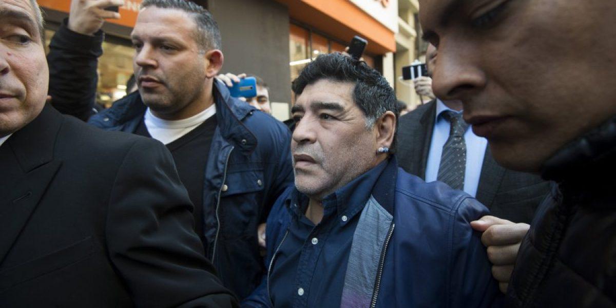 Maradona indignado por traspaso de Higuaín a Juventus: