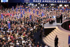 Enumeró sus promesas de campaña y reiteró lo que sería su programa de gobierno rumbo a la Casa Blanca. Foto:Publimetro. Imagen Por: