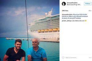 Su padre es un empresario millonario que se dedica a la exportación de diamantes a nivel mundial. Foto:Instagram/dravyadholakia. Imagen Por: