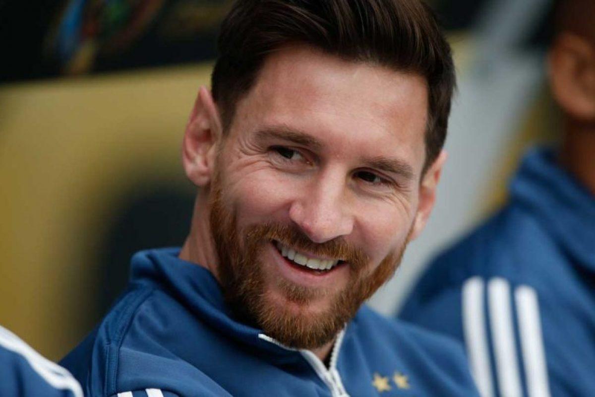 Para la Copa América Centenario apareció con una abundante barba. Foto:Getty Images. Imagen Por: