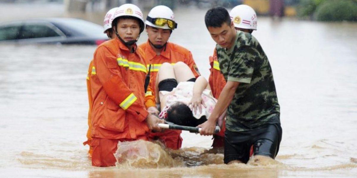 Más de 200 muertos y cientos de desaparecidos en China por fuerte temporal