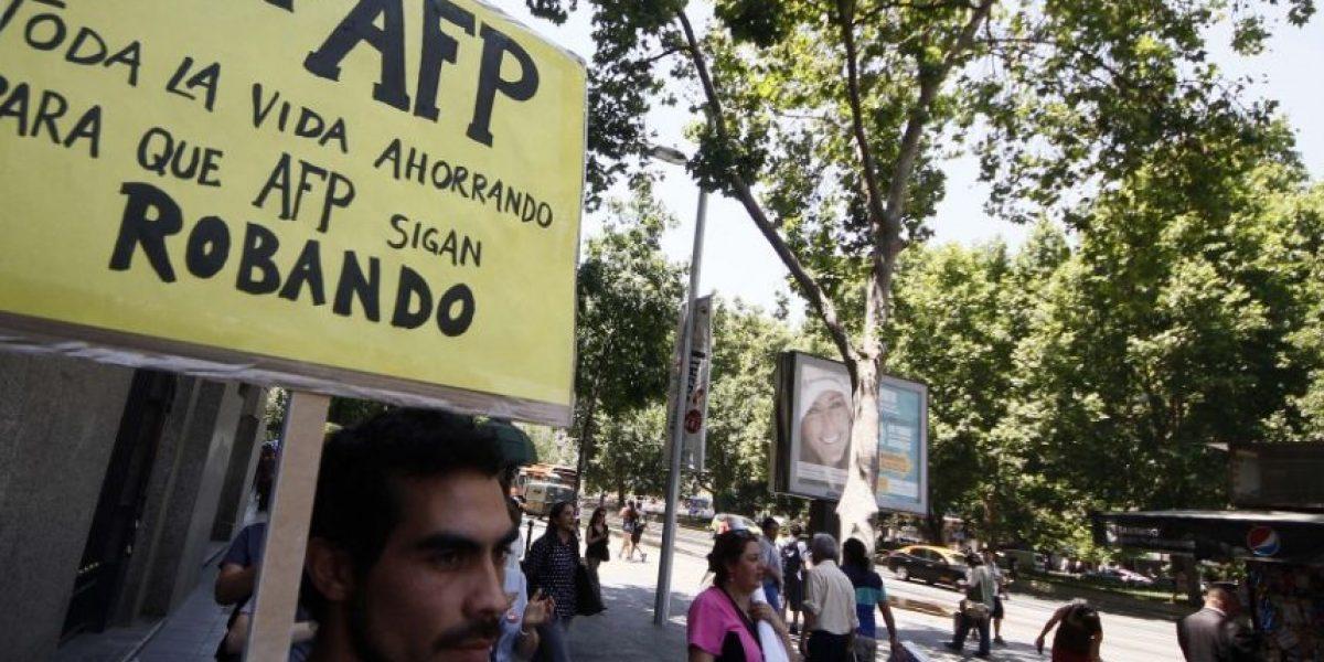 Marcha contra las AFP se toma las principales ciudades de Chile este domingo