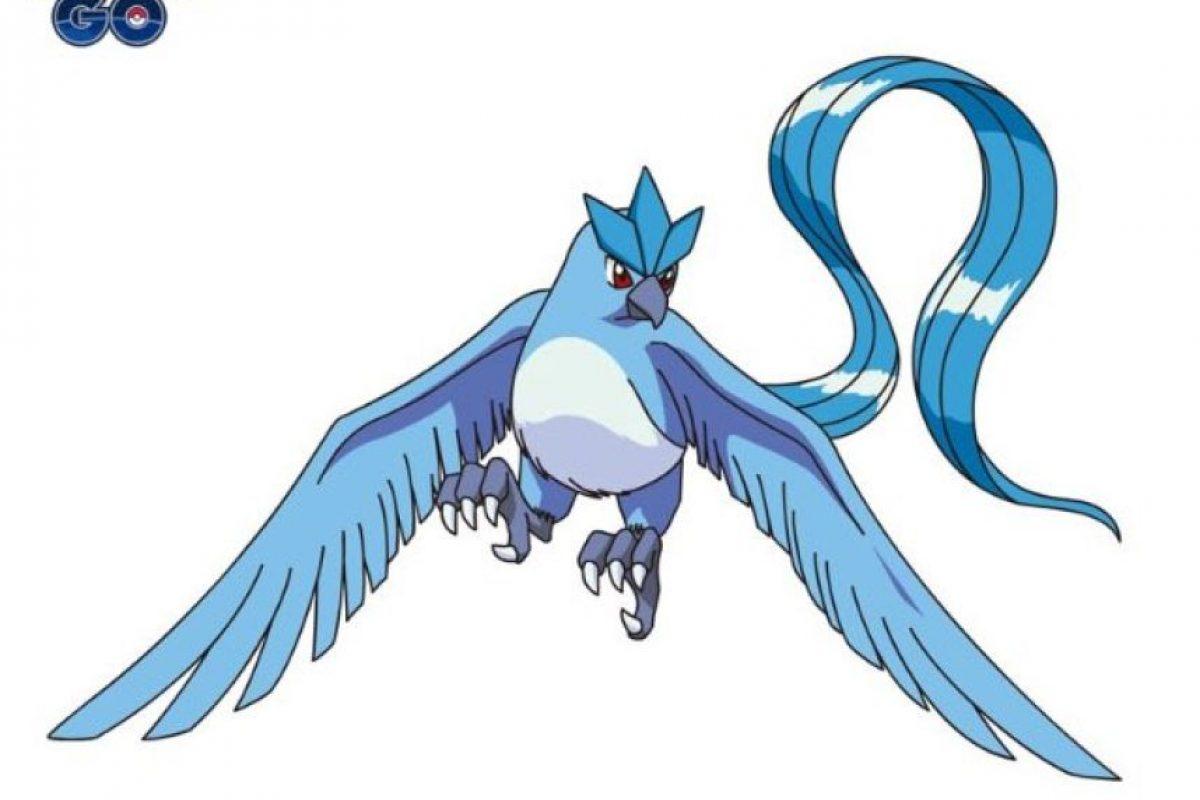 """""""Articuno"""", uno de los pokémon legendarios de la primera generación Foto:Vía twitter.com/PokemonGo_Lat. Imagen Por:"""
