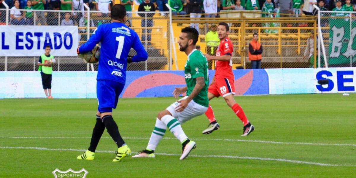 Ronnie Fernández anotó su primer gol en Colombia en derrota de Deportivo Cali