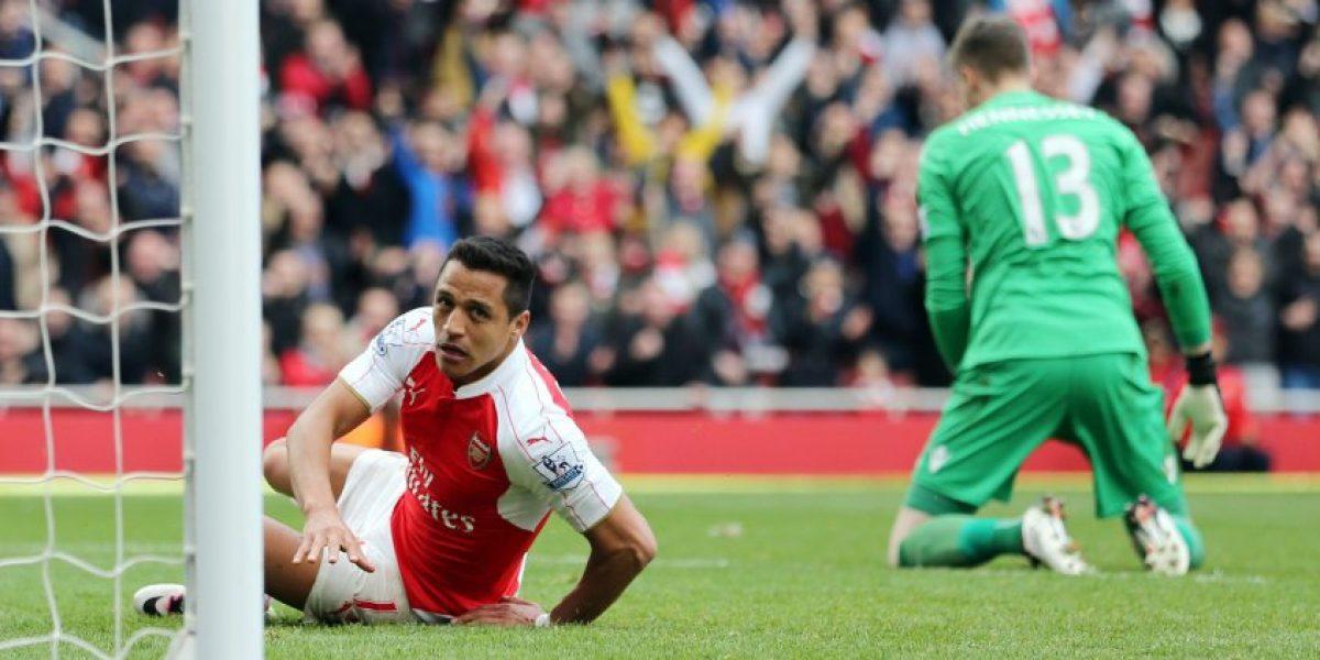 Alexis Sánchez quedó fuera de la pretemporada de Arsenal por lesión de su tobillo