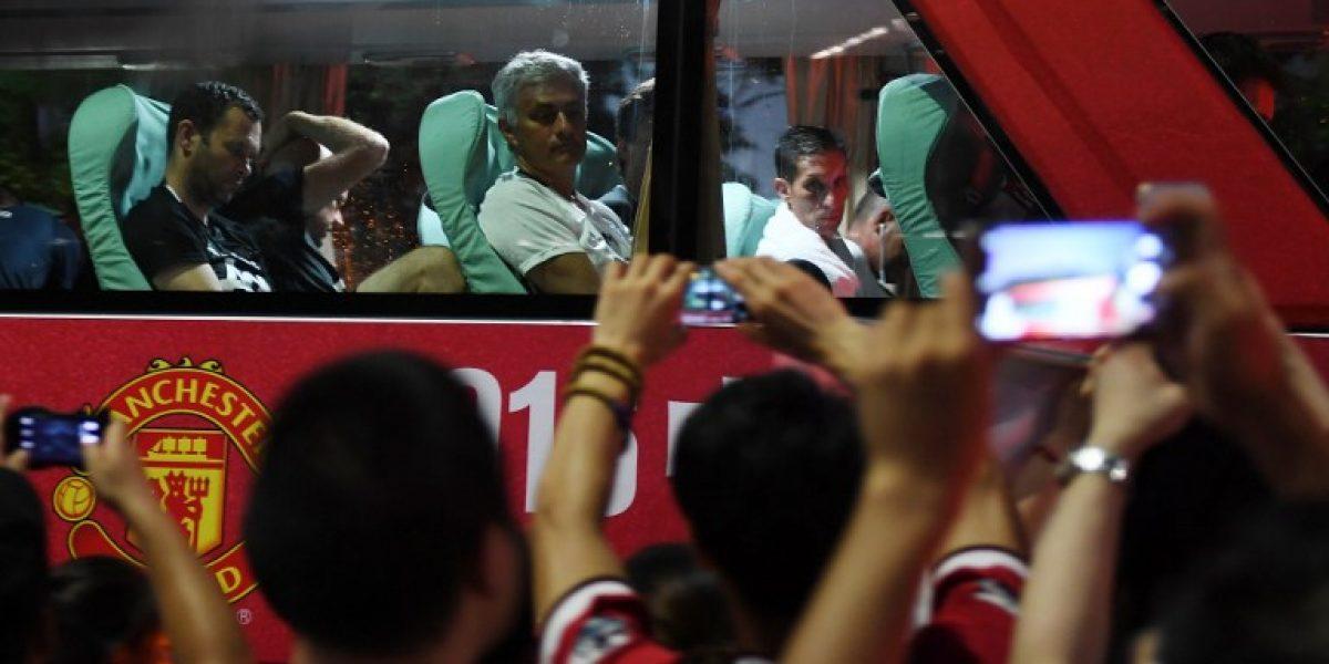 Mourinho está hastiado con la gira del United en China: