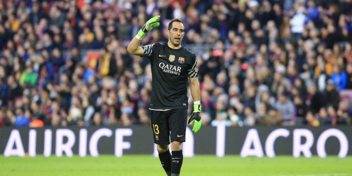 Barcelona no pondrá ninguna traba a Claudio Bravo si es que decide irse