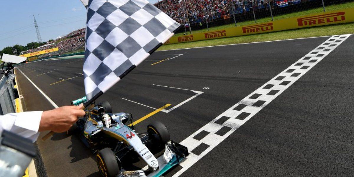 Hamilton ganó en el GP de Hungría y es el nuevo líder de la Fórmula 1