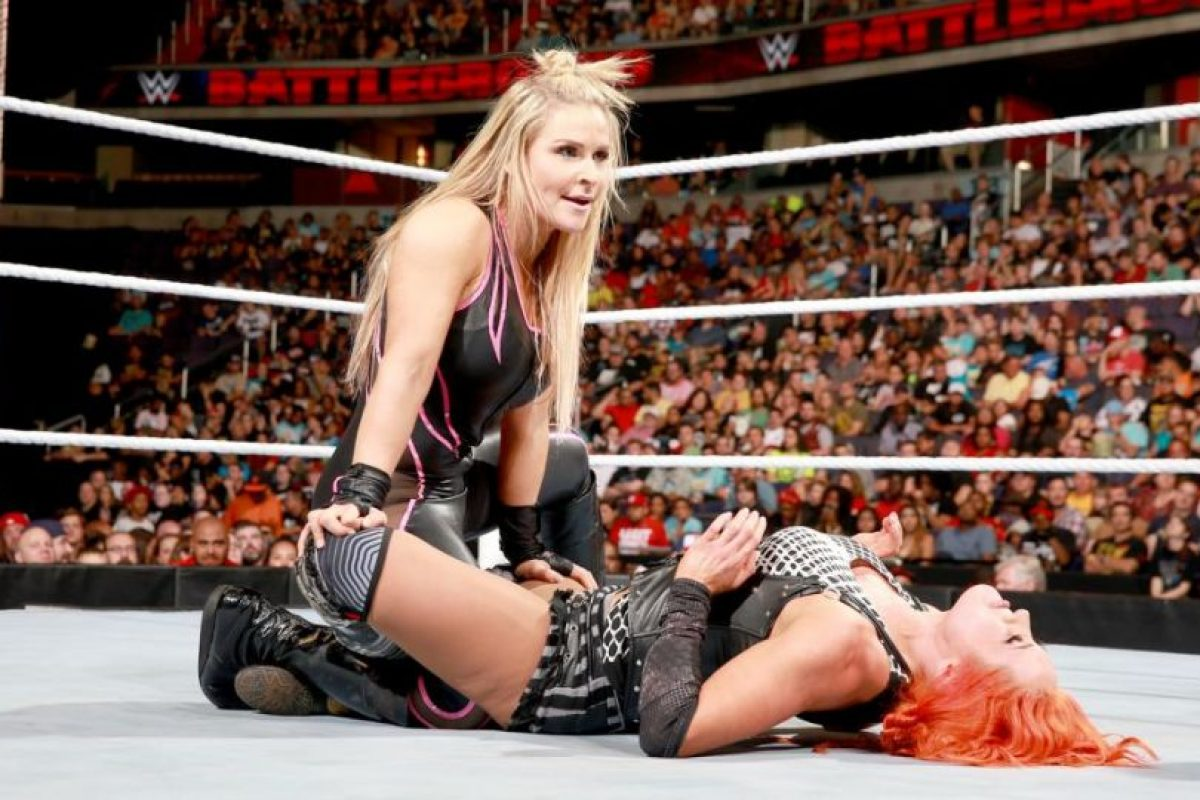 Natalya superó a Becky Lynch Foto:WWE. Imagen Por: