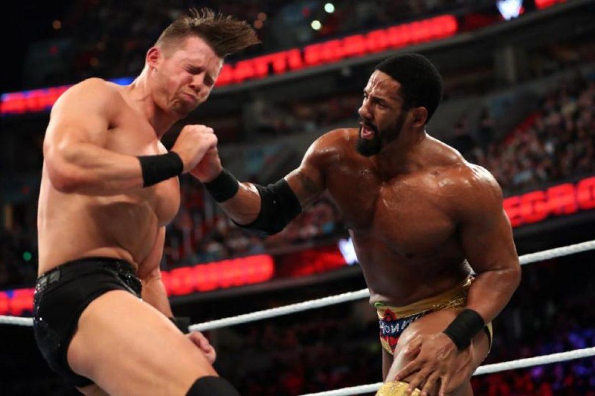 The Miz venció a Darren Ypung Foto:WWE. Imagen Por:
