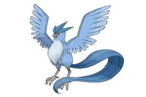 Él es Articuno, otro pokémon legendario. Foto:Pokémon. Imagen Por: