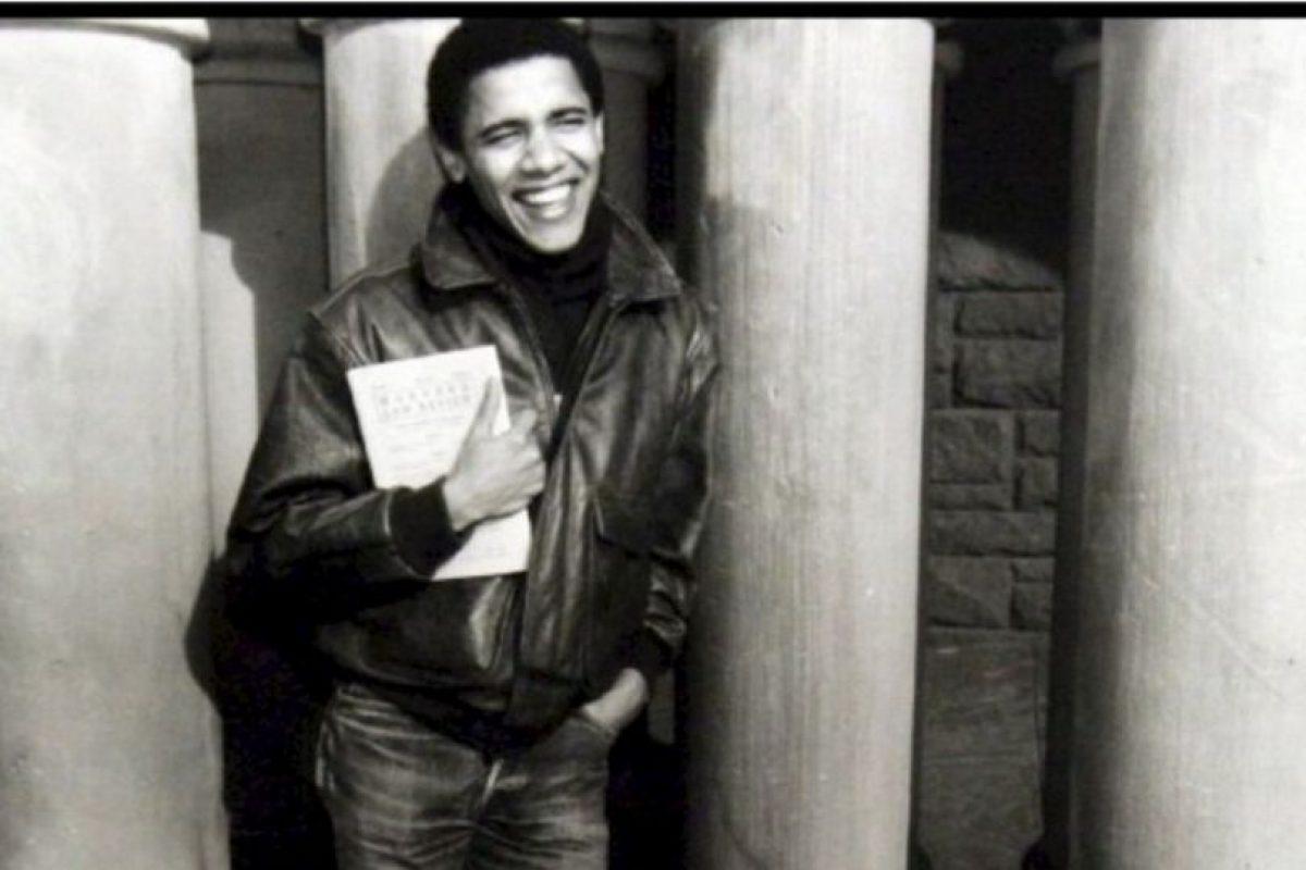 A finales de 1988 estudió Derecho en Harvard Foto:Facebook.com/BarackObama. Imagen Por: