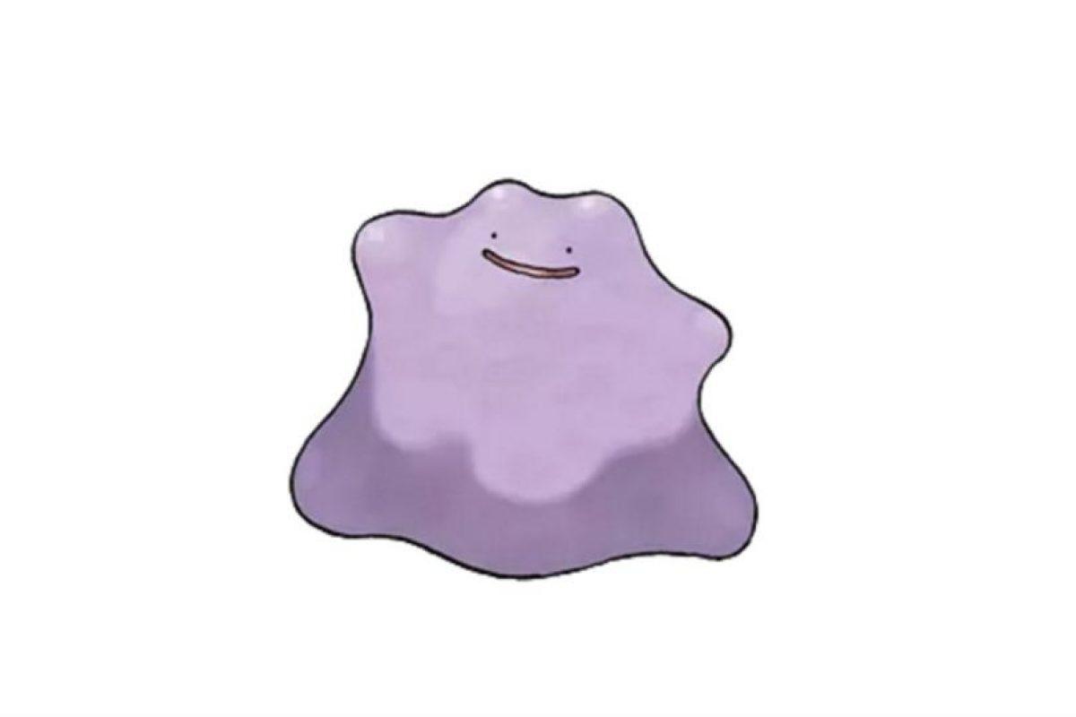 6.- Ditto. Si bien no es legendario, es igualmente difícil de capturar en Pokémon Go. Foto:Pokémon. Imagen Por: