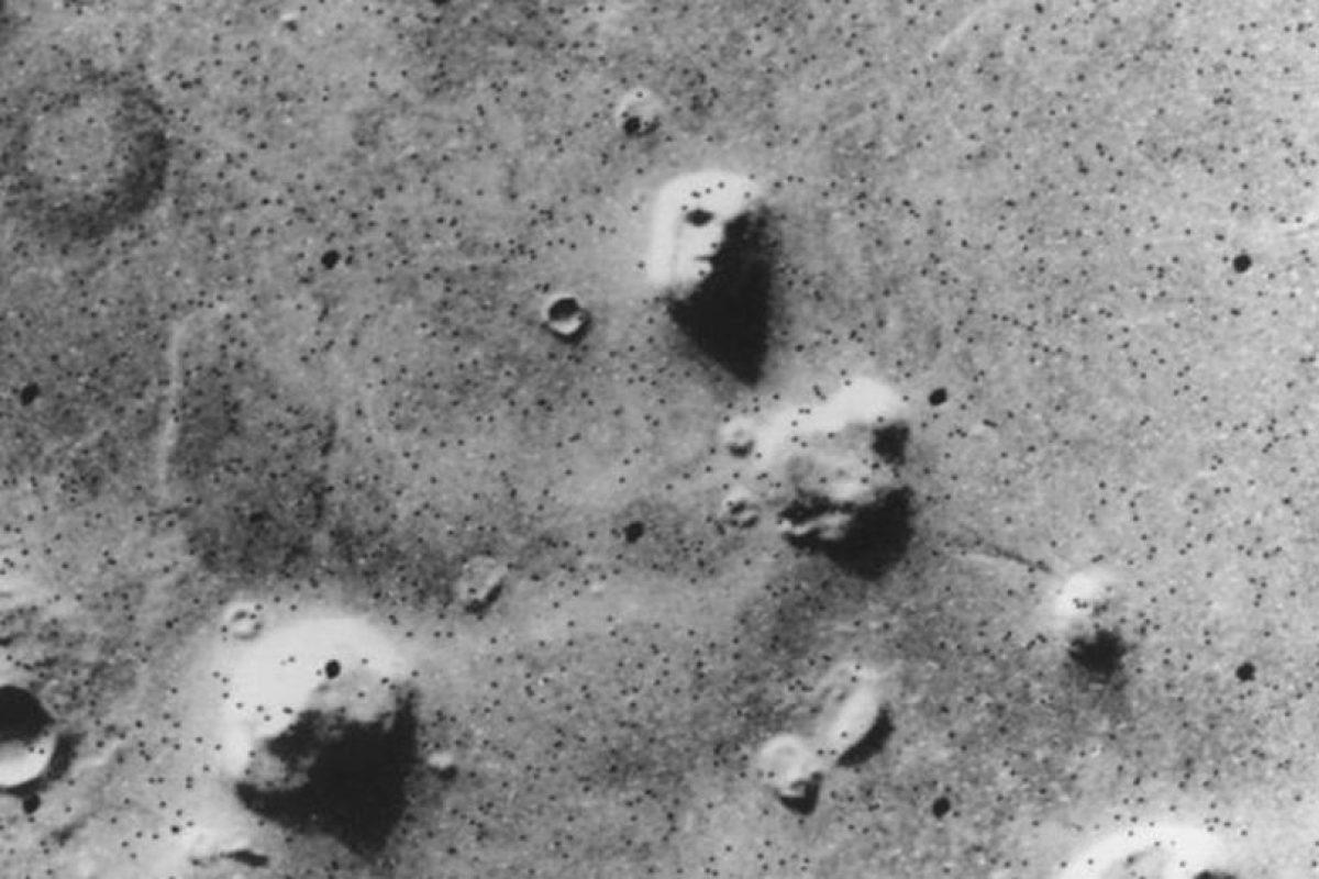 """La verdad tras la """"Cara de Marte"""" Foto:NASA. Imagen Por:"""