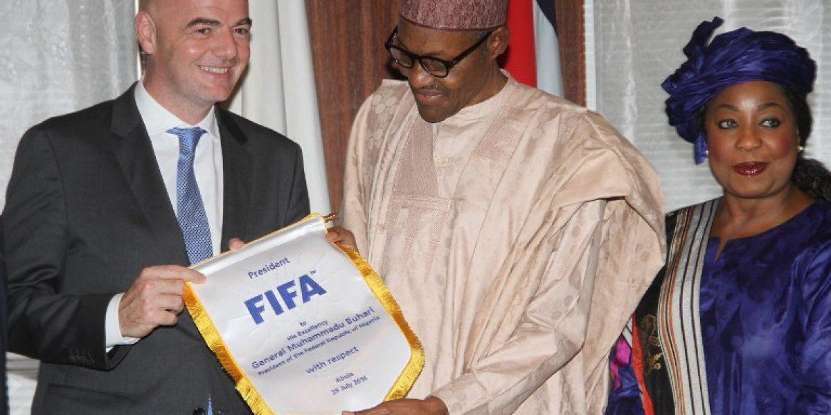 Presidente de la FIFA insiste en un Mundial con 40 equipos