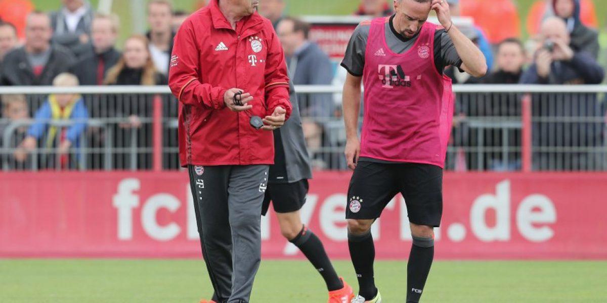 Ribery repasa a Pep Guardiola: