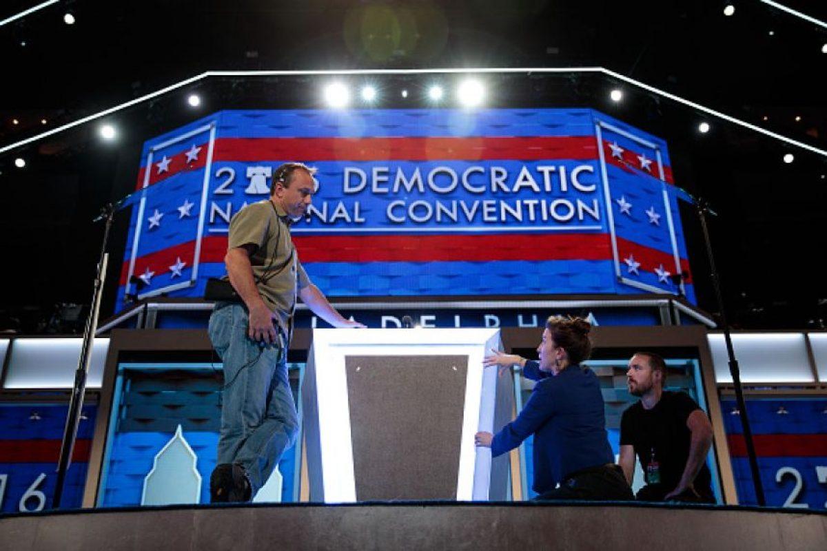 Este día comienza la Convención Nacional Demócrata Foto:Getty Images. Imagen Por: