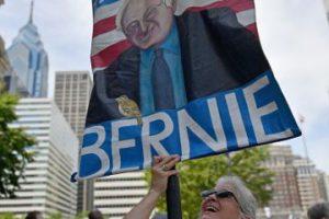 Los seguidores de Bernie Sanders se manifiestan en Filadelfia Foto:Getty Images. Imagen Por: