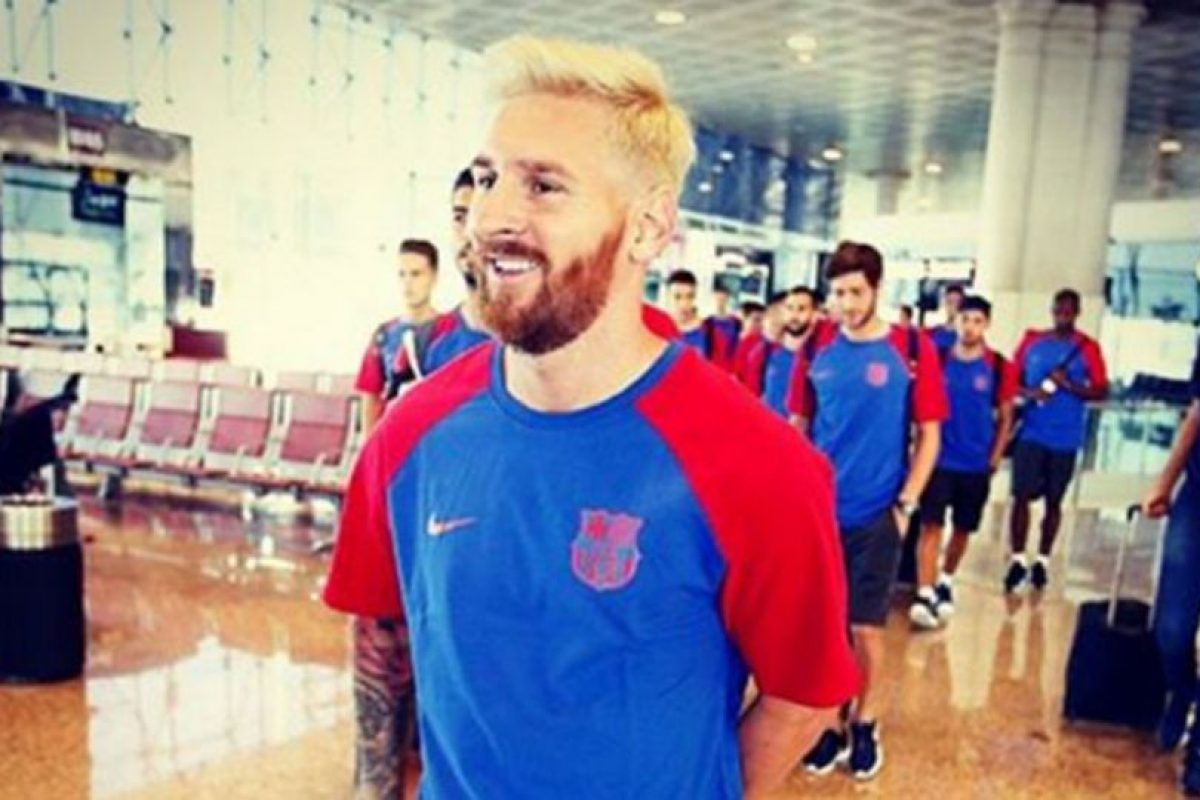 Lionel Messi Foto:FC Barcelona. Imagen Por:
