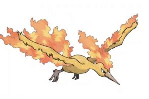 Él es Moltres. Foto:Pokémon. Imagen Por: