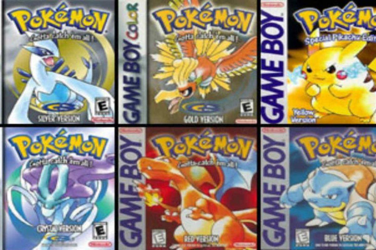 Pokémon Go viene de una larga saga de videojuegos. Foto:Pokémon. Imagen Por: