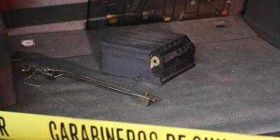 Policía investiga robo de cajero automático en Puente Alto usando saturación por gas