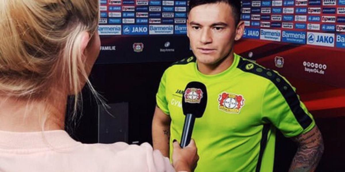 Charles Aránguiz agradeció las vacaciones y sueña con una gran temporada con el Leverkusen