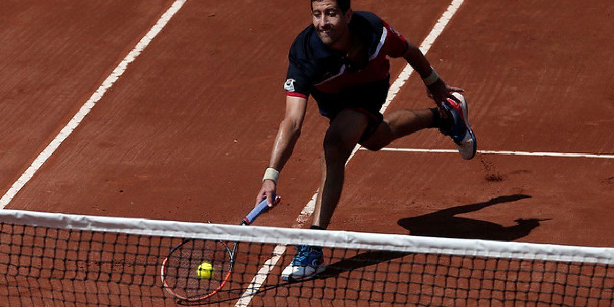 Hans Podlipnik se despidió en primera ronda del Challenger de Biella