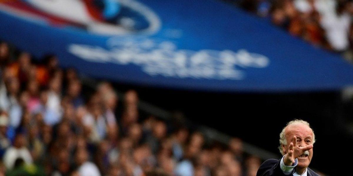 Del Bosque recuerda el mal momento que pasó contra Chile: