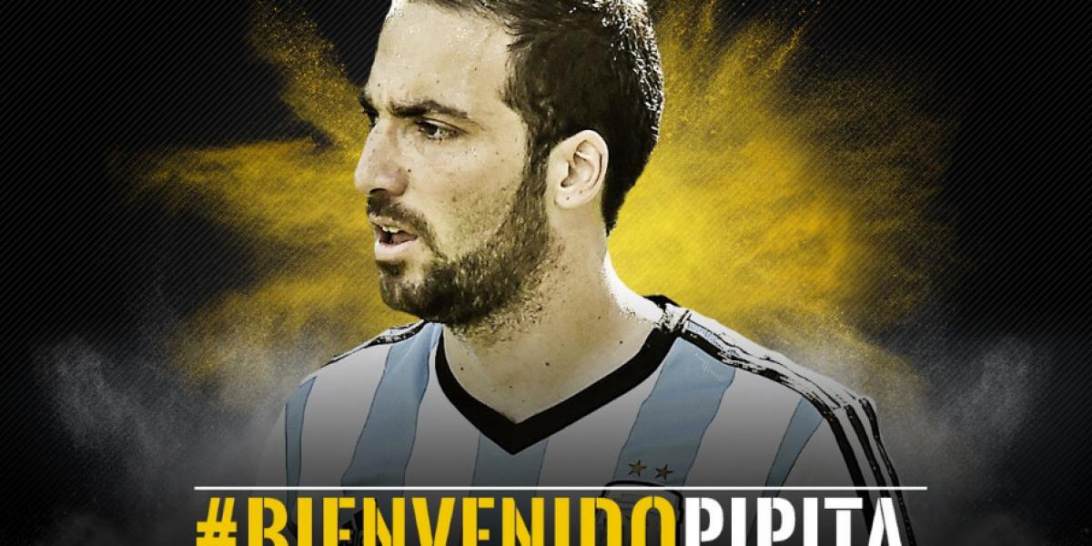 Gonzalo Higuaín entra al podio: Los futbolistas que más millones han movido en fichajes