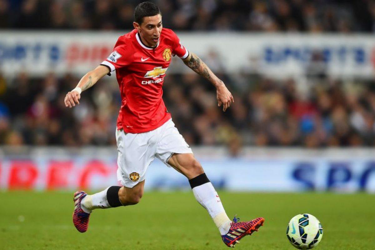 Cuatro años después, en 2014, Manchester United canceló 75 millones de euros por su pase Foto:Getty Images. Imagen Por: