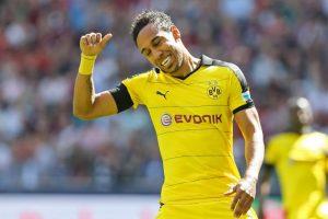 Patrice Emerick Aubameyang no saldrá del Borussia Dortmund Foto:Getty Images. Imagen Por: