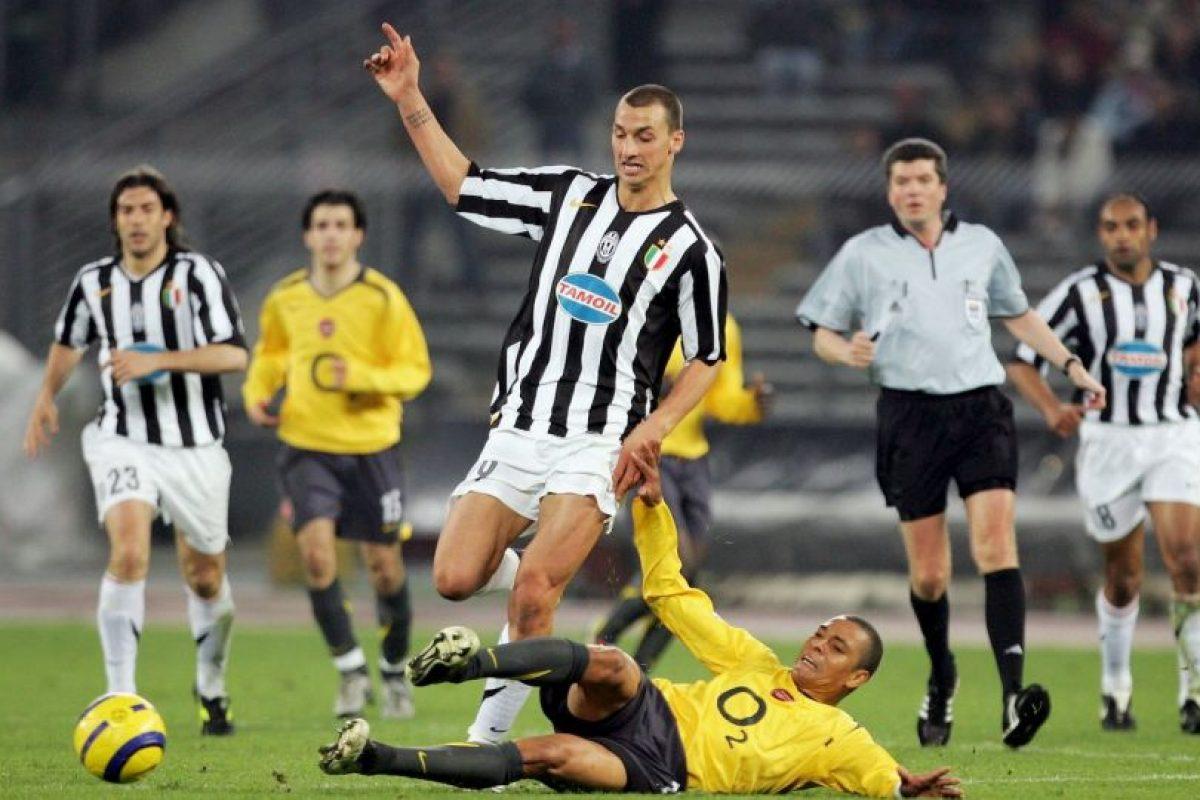 En 2004, Juventus canceló 16 millones de euros para quedarse con su carta. Foto:Getty Images. Imagen Por: