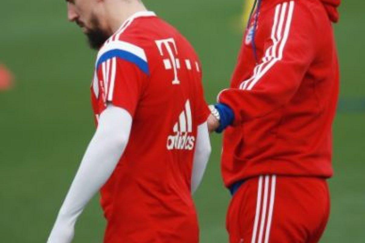 Franck Ribéry reveló una mala relación con Pep Guardiola Foto:Getty Images. Imagen Por:
