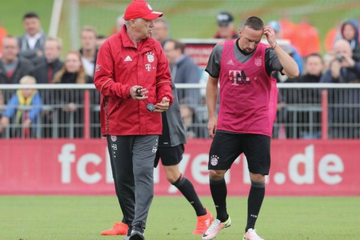Indicó que la llegada de Ancelotti era un regalo para el Bayern Foto:Getty Images. Imagen Por: