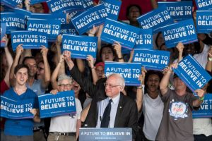 Sanders será uno de los primeros oradores durante el primer día de convención. Foto:Getty Images. Imagen Por: